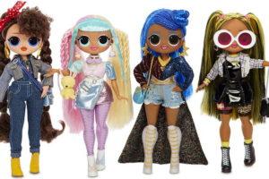 Старшие сёстры ЛОЛ ОМГ 2: большие куклы LOL OMG второй серии