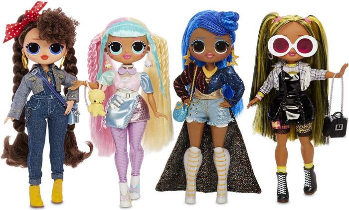 Куклы старшие сёстры ЛОЛ ОМГ вторая волна.