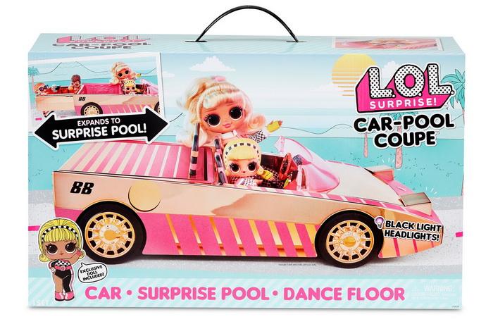 Машина кабриолет ЛОЛ в коробке.