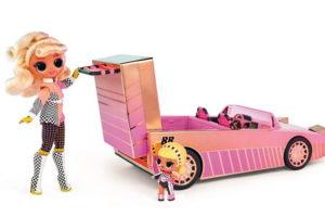 Автомобиль с бассейном для кукол ЛОЛ